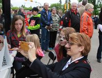 The Melfort Salvation Army held a parade to memorial garden followed by brunch and entertainment on Saturday, June 17.