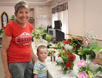 Flowers, tea and cake were just some of the reasons why many attended the annual flower and tea at the Lucknow United Church on June 14, 2017. The Lucknow & District Horticultural Society grow their number of guests every year as locals check out what's growing in each others gardens. Many have their eye on the red rose competition that occurs every year with a trophy going to the years best. (Ryan Berry/ Kincardine News and Lucknow Sentinel)