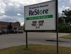 A Habitat for Humanity ReStore opened Saturday at the former Chances bingo hall on Park Road in Simcoe. The Brant-Norfolk chapter of Habitat for Humanity received $205,100 in Ontario Trillium Foundation funding to open the Simcoe outlet. (Simcoe Reformer photo)