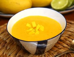 Chilled Melon and Mango Soup. (MIKE HENSEN, The London Free Press)