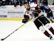 Chatham Maroons forward Austin Thompson plays against the London Nationals at Chatham Memorial Arena on Thursday, March 23, 2017. (MARK MALONE/The Daily News)
