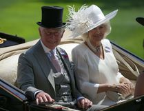 Getty Images file photo Britain's Prince Charles, Prince of Wales (L) and his wife Britain's Camilla, Duchess of Cornwall travel by horse-drawn carriage to arrive on day one of the Royal Ascot horse racing meet, in Ascot, west of London, on June 20, 2017.