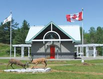 Photo by KEVIN McSHEFFREY/OF THE STANDARD The Trailhead is located at the junction of Highway 17 and Highway 108 in the Township of the North Shore.