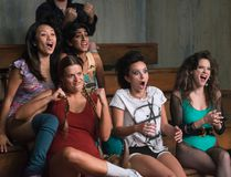 "Stars of ""GLOW"" are seen in this handout photo from the show. (Erica Parise/Netflix)"