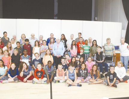 Willow Park School and Planeview Manor's Adopt a Grandparent program wrapped up for another year. The students and seniors celebrated the year-end with tea and cake at the school on June 20.