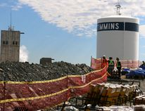 Dozens of technicians are working atop the Goldcorp Hollinger berm as they prepare their individual fireworks displays. Countries taking part in the fireworks events include France, Italy, Finland, Ukraine, China, Brazil, the UK and Canada. Team Canada will present a grade finalé of fireworks on the evening of July 1, Canada Day.