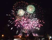 France opened the fireworks show on Saturday night, to the delight and awe of many festival-goers.