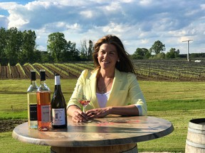 Lydia Tomek is a talented, outgoing winemaker at Burning Kiln Winery near Long Point. She and her crew make lovely whites and fabulous red wines. – JIM BYERS PHOTO