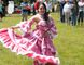 Maria Camila Sanchez, 17, performs a traditional Colombian dance during the celebration of Multiculturalism Day at Clergue Park by Centennial Library in Sault Ste. Marie on Tuesday, June 27, 2017. (Bambang Sadewo/Special To The Sault Star)