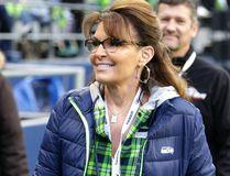 Sarah Palin is accusing The New York Times of defamation over an editorial that linked one of her political action committee ads to the mass shooting that severely wounded then-Arizona Congresswoman Gabby Giffords, according to a lawsuit filed in Manhattan federal court on Tuesday, June 27, 2017. (Scott Eklund/AP Photo/File)