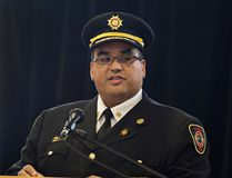 Michael Seth is the new fire chief of Brant County. (Brian Thompson/Expositor file photo)
