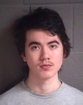 This undated booking photo provided by Buncombe County Detention Facility, shows North Carolina resident Justin Nojan Sullivan, who was sentenced to life in prison on Tuesday, June 27, 2017, for a foiled terror plot inspired by the Islamic State group. (Buncombe County Detention Facility via AP)