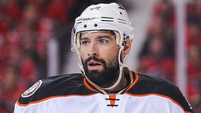 Nate Thompson. (Derek Leung/Getty Images)