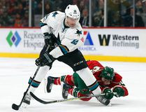 Patrick Marleau has left the Sharks and signed an $18.75 million, three-year deal with the Toronto Maple Leafs. (AP Photo/Stacy Bengs)