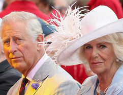 Prince Charles, Prince of Wales, and Camilla, Duchess of Cornwall, watch Canada Day celebrations on Parliament Hill during a 3 day official visit to Canada on July 1, 2017 in Ottawa. (Chris Jackson/Getty Images)