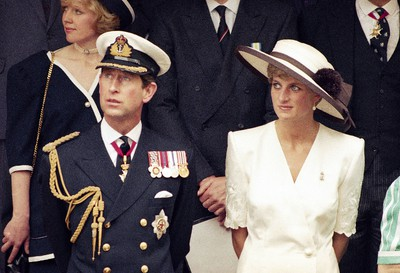 This 1991 file photo shows Prince Charles with his then-wife Princess Diana.  (AP Photo, File)
