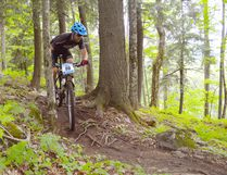 Paul Guenette, a veteran of the Walden Mountain Bike Club, will compete this summer at Leadville 100 in Colorado. Photo supplied