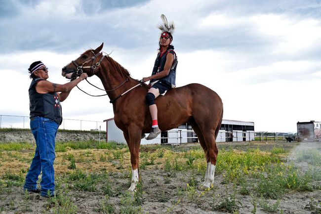 Indian Relay To Debut At The Calgary Stampede Pincher