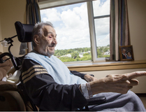 Georges Karam was assaulted by an orderly and the incident was caught on camera the family had previously installed in his room. (Darren Brown, Postmedia)