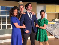 <p>AnnaMarie Lea, Stephanie Folkins, Gaelan Beatty and Siobhan Richardson star in Boeing Boeing coming to the Upper Canada Playhouse staring July 6, 2017.</p><p> Handout/Cornwall Standard-Freeholder/Postmedia Network