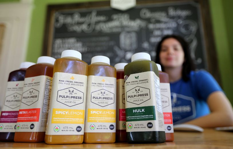 Image result for pulp & press juice co