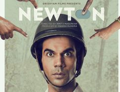 """The poster for """"Newton,"""" a dark comedy screening in Fort McMurray as part of the India Film Festival. Image provided by the Edmonton Movie Club."""