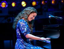 Chilina Kennedy, who attended Kingston Collegiate and Vocational Institute, stars in the title role in Beautiful: The Carole King Musical, which opened at Toronto's Ed Mirvish Theatre in late June. (Joan Marcus photo)