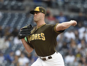 Clayton Richard's pronounced ground-ball tendencies could make him a sleeper for improvement in the second half. (Getty Images)