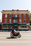 The Gibbard Block building that houses La Boheme restaurant is seen in the Highlands neighbourhood of Edmonton on Friday, July 7, 2017. The city is discussing its status as a historic building. Ian Kucerak / Postmedia
