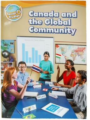 Grade 6 Social Studies textbook, Canada and the Global Community, published by Nelson Canada, is being used in 800 elementary schools across Ontario.