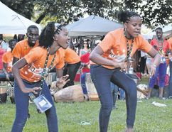The Neema Children's Choir shared an energetic performance of dancing, drumming and singing at Sunfest on Sunday evening. The Ugandan group is composed of children aged seven to 16 years. (The London Free Press)