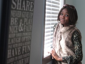 Beryl Musila, pictured in a profile on an addiction recovery centre in the Calgary Herald on Wednesday November 18, 2015. She had just completed the 12-week recovery program.