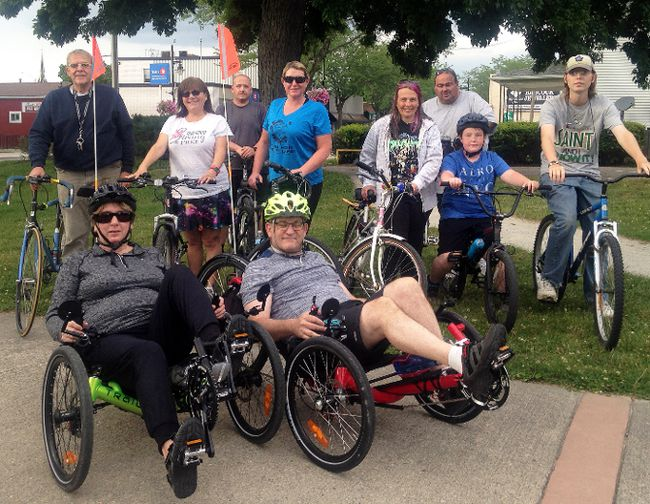 A group of dedicated bicyclists has formed a biking group and is meeting up twice a week to host community bike rides.