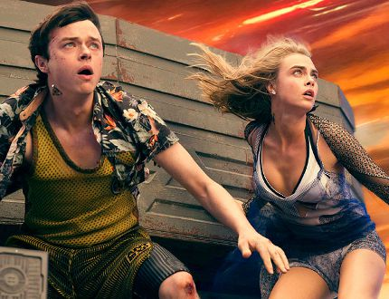 "Dane DeHaan and Cara Delevingne star in EuropaCorp's ""Valerian and the City of a Thousand Planets."" (Vikram Gounassegarin/VALERIAN SAS Ð TF1 FILMS PRODUCTION/Supplied)"