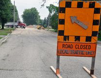 Cope Construction & Contracting Ltd., of Sarnia/Windsor area, began reconstruction of Nelson Street, between William Street and Park Lane, on July 4th. ANDY BADER/MITCHELL ADVOCATE