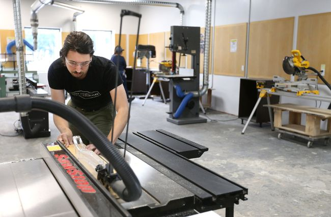 Community Woodshop Aims To Bring People Together Over The