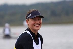 Manitoba rower Emma Gray from Winnipeg. HANDOUT/Canadian Sport Centre Manitoba