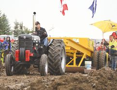 The Strathcona Vintage Tractor Association received $10,000 in community funding for its 2017 tractor pull and show. File Photo