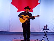 Taw Connors, son of the legendary Stompin' Tom, will be a performing at Theatre Cambrian on July 29. (Photo supplied)