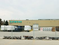 About 300 workers at the Siemens wind turbine plant in Tillsonburg have been called to a meeting Tuesday. Siemens officials couldn't be reached Monday for comment about the future of the plant, one of the town's biggest private employers. (Bruce Chessell/Postmedia News)