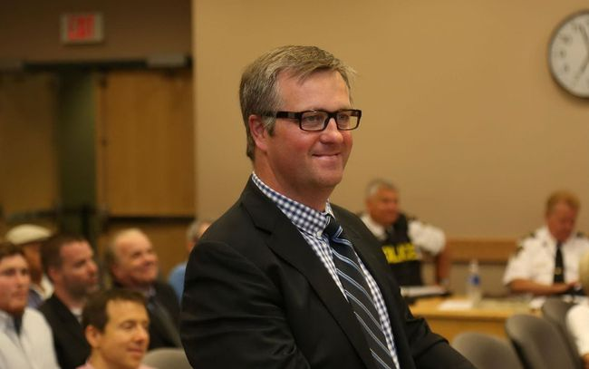 Jason Miller/The Intelligencer Senators COO, Rob Mullowney. told Quinte West council the team will require the entire region to rally behind the franchise for it to survive.