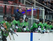 <p>Mike Dube (behind bench, middle) has stepped away from coaching the Cornwall Jr. C Celtics. The Celtics were eliminated from the 2017 playoffs on Sunday, July 16.</p><p> Robert Lefebvre/Special to the Cornwall Standard-Freeholder/Postmedia Network