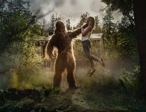 A Facebook page by director Victor Cooper brings the legendary Bigfoot to life.