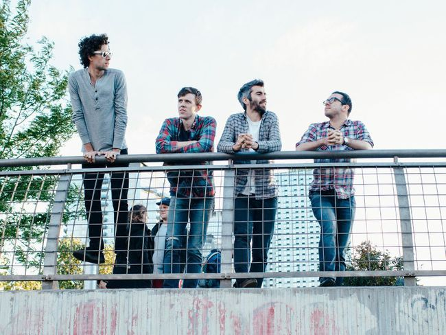 Tokyo Police Club is playing the Riddell Centre on Sept. 28. (Nicole Fara Silver photo)