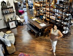 Rebecca Courey, creator of Design House London, has moved her new business into a heritage building on York Street, the former home of Gardner Galleries. (CHRIS MONTANINI, Londoner)