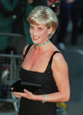 Diana, Princess of Wales, is shown in this July 1, 1997, file photo. (Jacqueline Arzt Larma/AP Photo/Files)