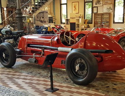 Maserati's magical museum overpowers its farm-fresh smell