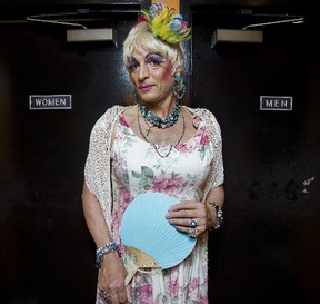 Mz. Affra-Tighty (Katu Azzya) will be reading to children Saturday as London?s Central Library plays host to Drag Queen Storytime, embracing the region?s LGBTQ community as part of Pride London Festival celebrations. (DEREK RUTTAN, The London Free Press)