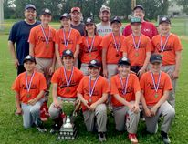 The Dailey's Your Independent Grocers Orioles captured the Timmins Little League Major Division championship. Members of the team, not in order, are: Connor Chenier, Ethan Langlais, Evan Osiowy, Brady Lafond, Brandon Bertrand, Nathan Prevost, Avery French, Hunter Lauzon, Maxim Zelionka, Blair Bouchard and Joshua Bednarz. The team was coached by Nelson Langlais, Ron Lafond, Dan Chenier and Marc Prevost. SUBMITTED PHOTO