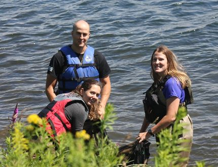<p>Catching some pike for research are Natasha Pozega, Felix Morin and Lisa Hickey on Tuesday July 25, 2017 in Cornwall, Ont.</p><p> Lois Ann Baker/Cornwall Standard-Freeholder/Postmedia Network